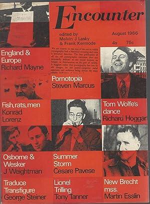 Encounter (Magazine): August 1966: Volume XXVII, No.2: Kermode, Frank & Lasky Melvin J. Eds