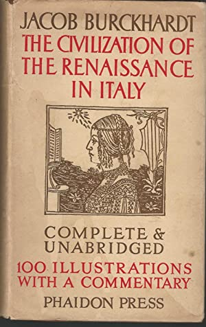 jacob burckhardt thesis renaissance 1) jacob burckhardts the civilization of the renaissance in italy jacob burckhardt's the civilization of the renaissance in italy.