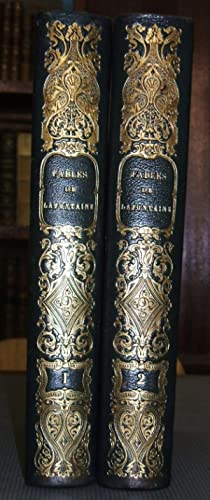 Fables De La Fontaine Illustrées Par Grandville (2 volumes)