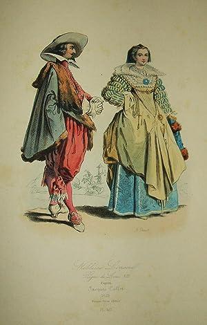 Modes et Costumes Historiques Français: Pauquet Frères