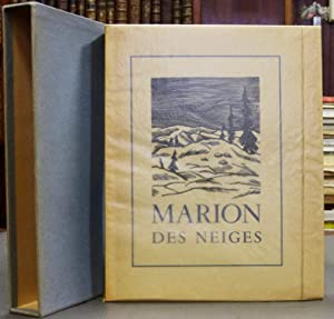 Marion Des Neiges, Illustrations De Pierre Lecomte