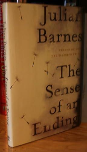THE SENSE OF AN ENDING +++ RARE SIGNED U.K 1ST / 1ST +++ WINNER OF THE MAN BOOKER PRIZE 2011 +...
