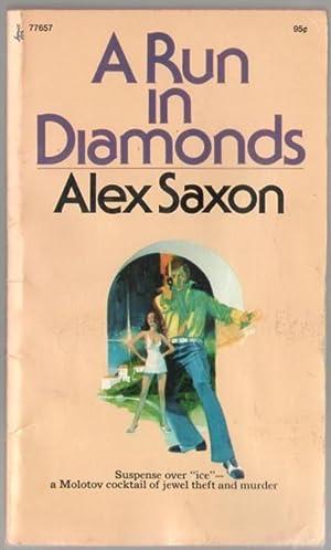 A Run in Diamonds: Pronzini, Bill as Saxon, Alex