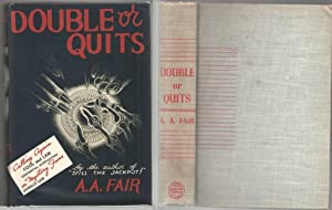 Double or Quits: Gardner, Erle Stanley as Fair, A. A.
