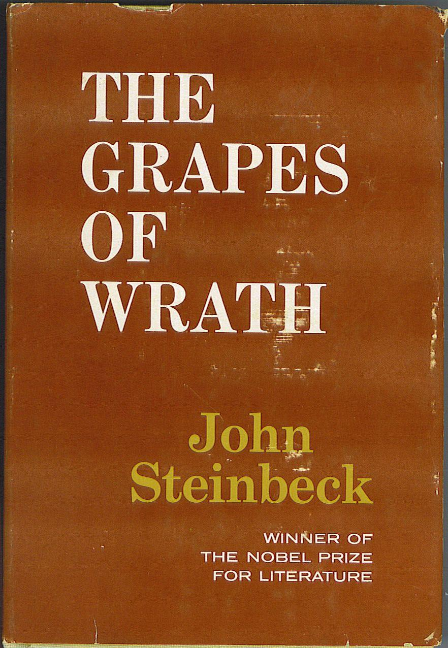 a literary analysis of the review of the grapes of wrath by john steinbeck