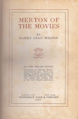 Merton of the Movies: Wilson, Harry Leon