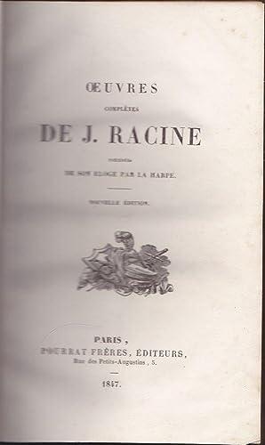 Racine Oeuvres Completes (5 of 6 volumes, Vols. 2-6): Racine, Jean