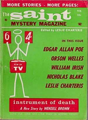 The Saint Mystery Magazine February 1964 (Volume: Charteris, Leslie; Welles,