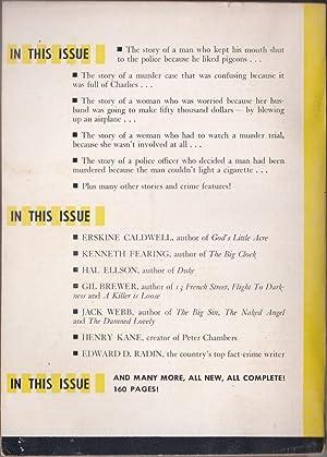 Manhunt March 1955 (Volume 3, Number 3): Fleming-Roberts, G. T.; Ellson, Hal; Webb, Jack; Caldwell,...