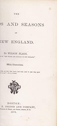 The Birds and Seasons of New England: Flagg, Wilson
