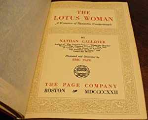 The Lotus Woman: A Romance of Byzantine Constantinople: Gallizier, Nathan