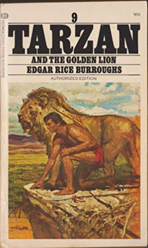 Tarzan and the Golden Lion (Tarzan 9): Burroughs, Edgar Rice