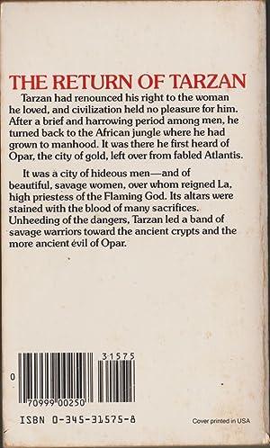 The Return of Tarzan (Tarzan 2): Burroughs, Edgar Rice