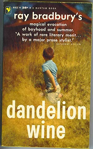 dandelion wine essay Paper instructions: is dandelion wine a realistic novel does douglas spaulding represent all twelve year old boys defend each answer taking into account possible counterarguments place this order or a similar order with us today and get an amazing discount 🙂 essays.