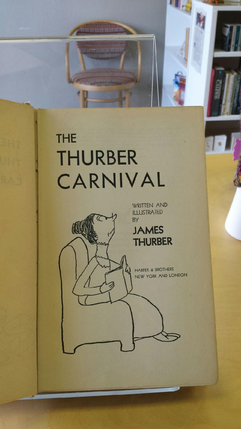 ... The Thurber Carnival: james Thurber ...