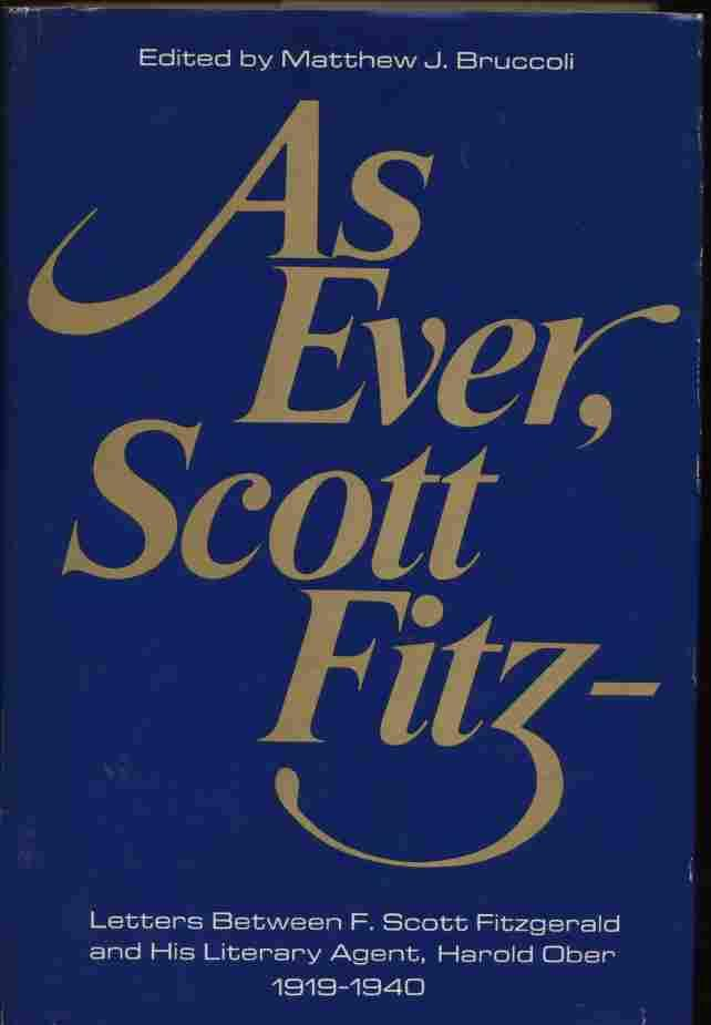 As Ever Scott Fitz Letters Between F
