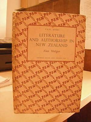 Literature and Authorship in New Zealand: Mulgan, Alan