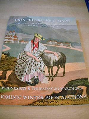 Printed Books & Maps. British Topographical Books: Dominic Winter Book