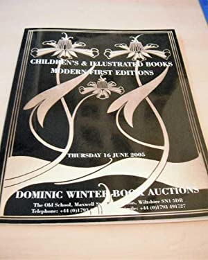 Children's & Illustrated Books. Modern First Editions.: Dominic Winter Book