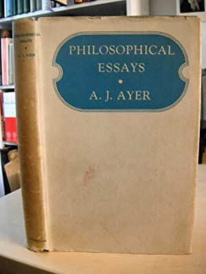 ayer philosophical essays The simple fact about philosophical essays ayer, energy drink thesis, complete research paper pdf, homework should be abolished or not that no-one is telling you.