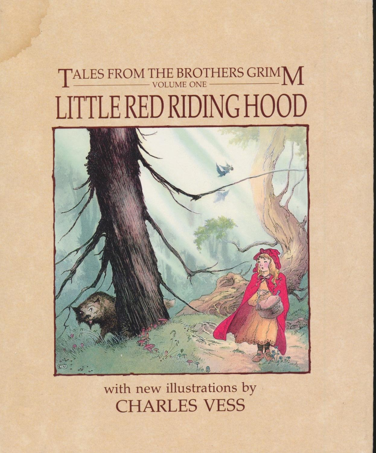 Little Red Riding Hood By Grimm First Edition Abebooks