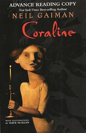 Coraline SIGNED Advance Reading Copy: Neil Gaiman