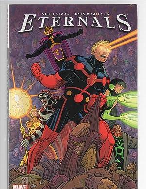 The Eternals SIGNED: Neil Gaiman / John Romita Jr.
