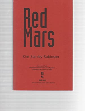 Red Mars Uncorrected Proofs: Kim Stanley Robinson