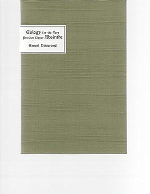 Eulogy for the Very Precious Liquor Absinthe: Ernest Tisserand