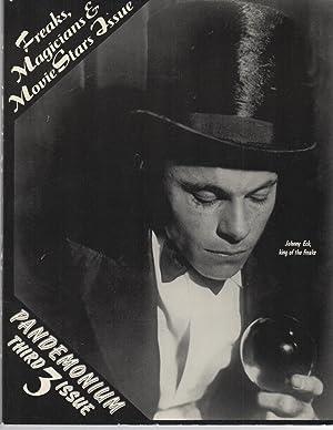 Pandemonium 3 : Freaks, Magicians & Movie Star Issue: Pat Hollis / Jack Stevenson (ed)