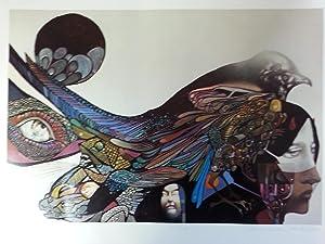 Deathbird SIGNED art print: Leo & Diane Dillon