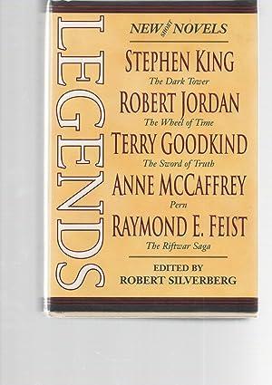 Legends SIGNED by Pratchett, Martin, Card: Robert Silverberg (ed)