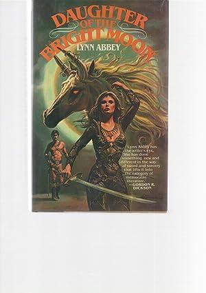 Daughter of the Bright Moon presentation copy to Gordon R. Dickson: Lynn Abbey