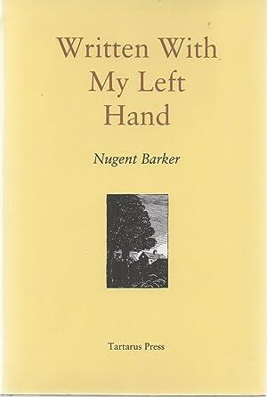 Written With My Left Hand: Nigel Barker