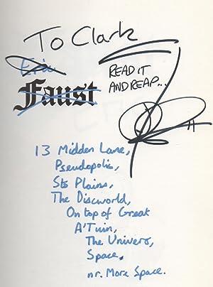 Eric SIGNED First Edition: Terry Pratchett / Josh Kirby