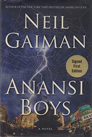 Anansi Boys SIGNED: Neil Gaiman