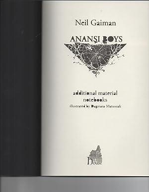 Anansi Boys / Copy #666: Neil Gaiman