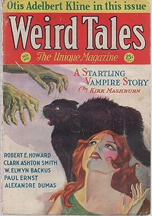 Weird Tales Vol. 18 #4 November 1931