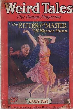 Weird Tales Vol. 10 #1 July 1927