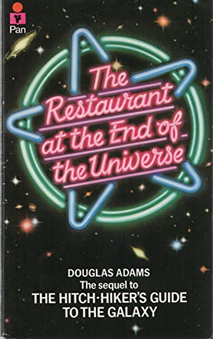 The Restaurant at the End of the Universe SIGNED True First: Douglas Adams