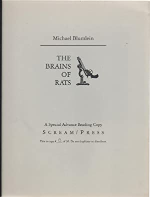 The Brains of Rats Limited Edition ARC: Michael Blumlein