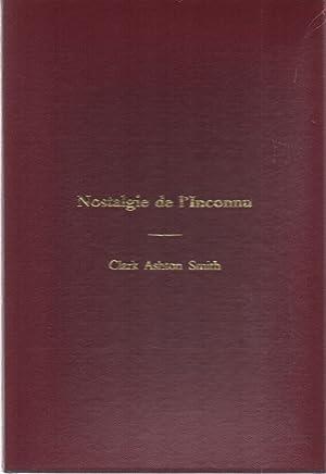 Nostalgie de l'Inconnu: Clark Ashton Smith