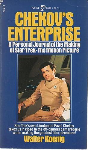 Chekov's Enterprise PBO (Star Trek) SIGNED: Walter Koenig