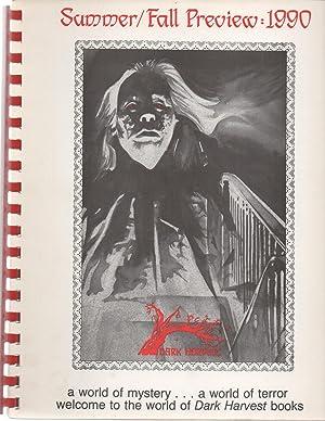 Dark Harvest Summer / Fall Review : 1990: Koontz / Garton / Simmons / Matheson /
