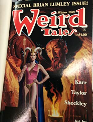 Weird Tales #295 (Special Lumley issue) SIGNED x 5