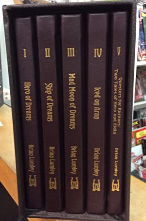 The Dreamlands Series : 5 Book Leather-bound set SIGNED