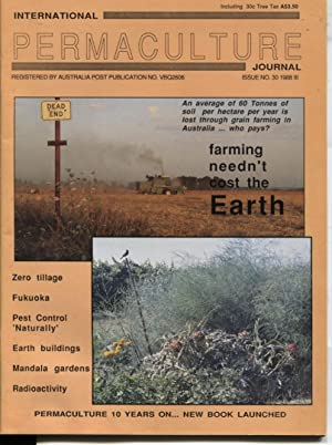 INTERNATIONAL PERMACULTURE JOURNAL Issue #30 1988 Earth Issue