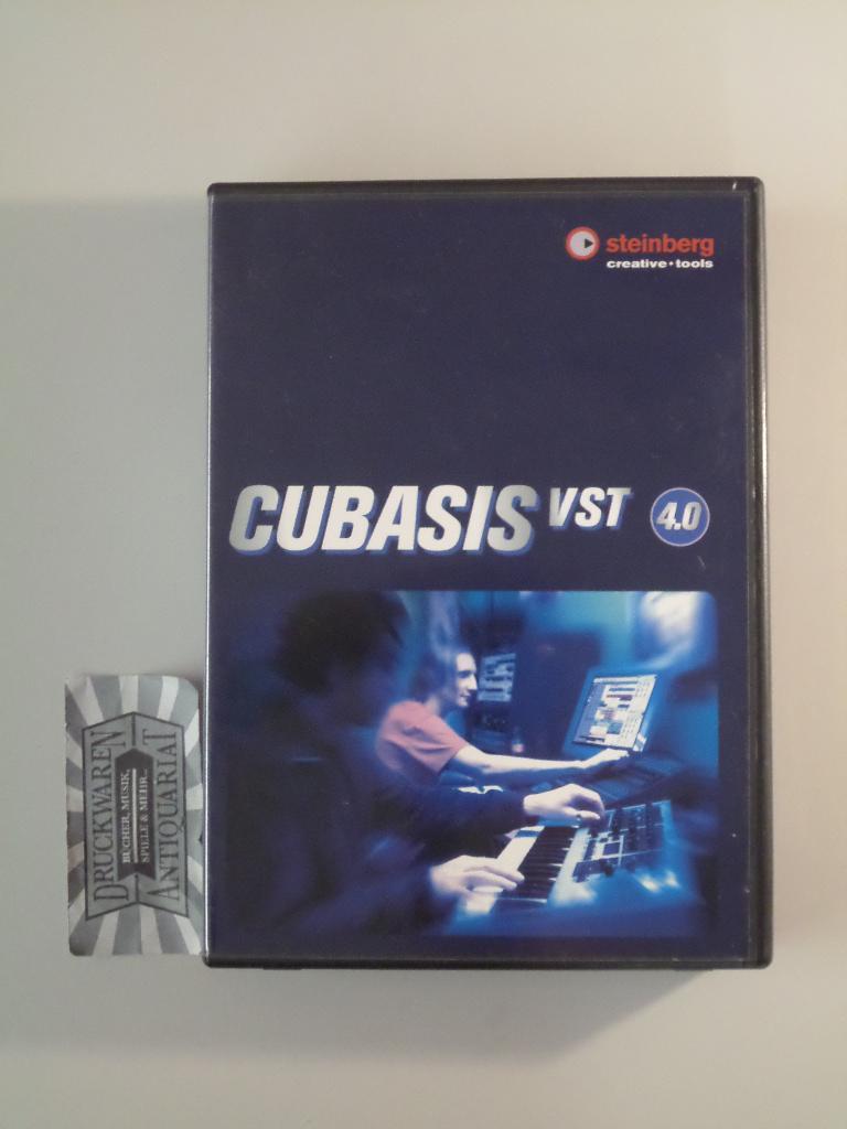 Cubasis VST 4.0 [3 CD-ROM s]., Fine 3 CD-ROM s + Handbuch. CD-ROM s und Handbuch sehr gut erhalten. Sprache: Deutsch Gewicht in Gramm: 550