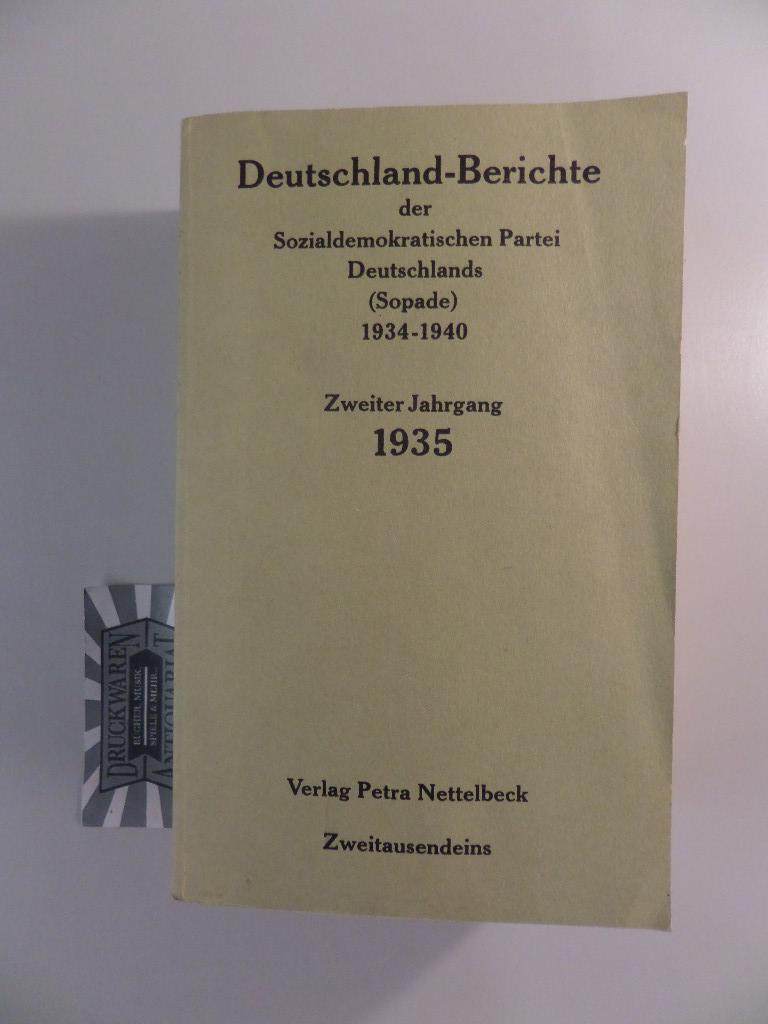 Deutschland-Berichte der Sopade. Zweiter Jahrgang. 1935.