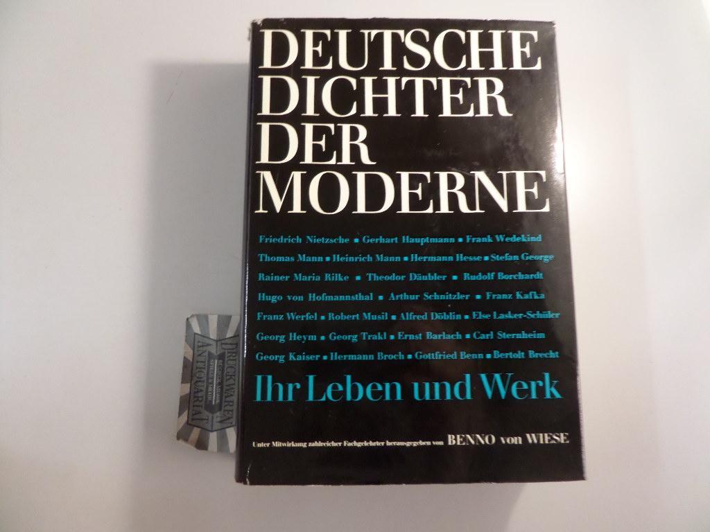 Deutsche Dichter der Moderne - Ihr Leben: von Wiese, Benno